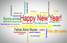 تبریک سال نو به ۲۲ زبان دنیا