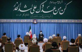 تصاویر دیدار اعضای مجلس خبرگان با رهبر معظم انقلاب
