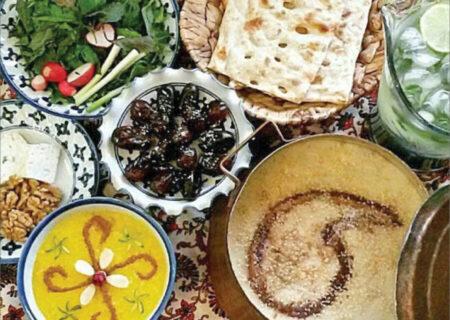 توصیههایی برای وعدههای غذایی در ماه رمضان