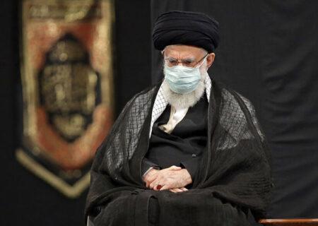 آخرین جلسه عزاداری سید و سالار شهیدان با حضور رهبر انقلاب برگزار شد+ عکس