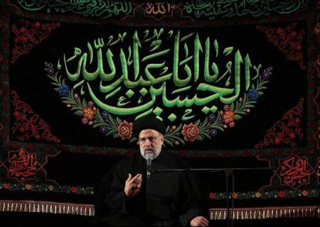 باید برای عزت و سعادت جامعه و حل مشکلات مردم بر اساس سیره امام حسین (ع) تلاش کنیم + گزارش تصویری
