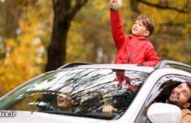 وقتی پنجره سقفی خودرو، جان کودکان را میگیرد